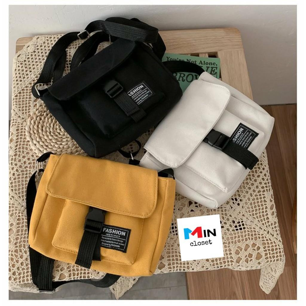 Túi đeo chéo 💖 𝑭𝑹𝑬𝑬𝑺𝑯𝑰𝑷 💖 Túi tote vải Canvas cá tính TV10