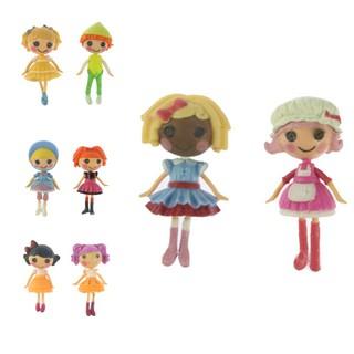 (8 cái) MGA MINI Lalaloopsy 8 Lele Angel Mini Doll