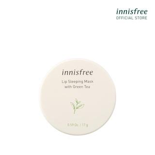 Mặt nạ ngủ dưỡng ẩm trà xanh cho môi innisfree Lip Sleeping Mask With Green Tea 17g thumbnail