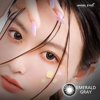 Kính áp tròng Angel Eyes - EMERALD - Brown Gray - Classic - DIA 14.2 - Độ cận 0-6 thumbnail