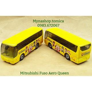 Tomica Bus – Mitsubishi Fuso Aero Queen (màu vàng)
