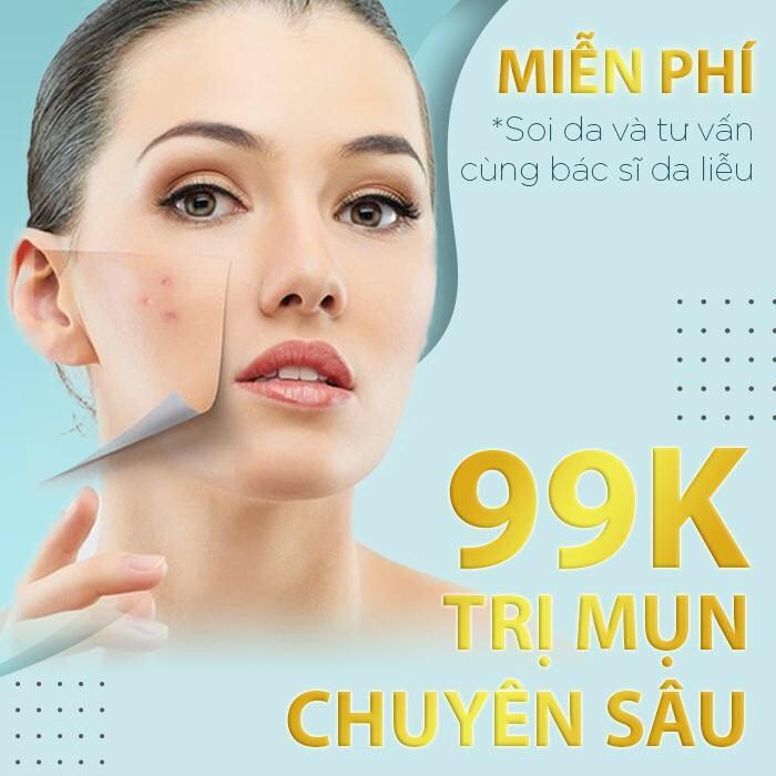 Hồ Chí Minh [E-Voucher] Điều trị mụn chuyên sâu công nghệ mới nhất 2020 Tại Bonita Spa