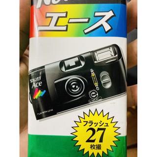 Máy chụp ảnh 1 lần Fujifilm ACE, có sẳn trong máy 1 cuộn film màu Fuji 400, 27 tấm