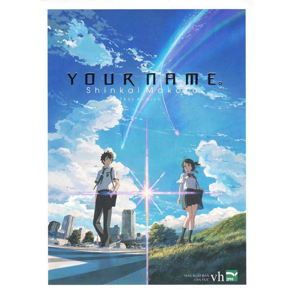 Sách - Light Novel Your Name (Nguyên màng co)