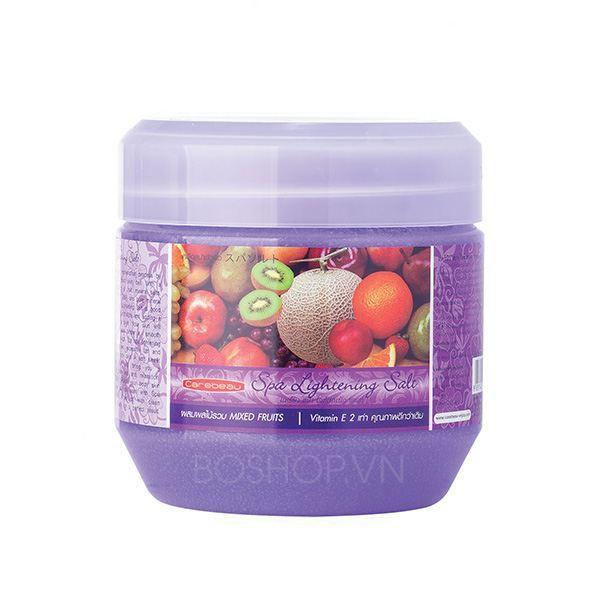 Muối tắm Spa Lightening Salt hoa quả tổng hợp hiệu Carebeau Thái Lan 700g