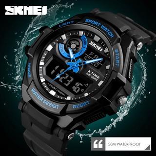 [HOT] Đồng hồ thể thao nam SKMEI BW061 - SK1357 2 máy độc lập đa chức năng chống nước tuyệt đối