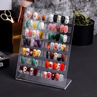 Bảng Mica trưng bày móng nail tặng kèm thanh gắn móng mẫu siêu đẹp
