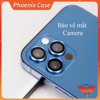 Dán cường lực bảo vệ Camera iPhone loại viền nhôm cao cấp cho 11Promax 12 Promax thumbnail