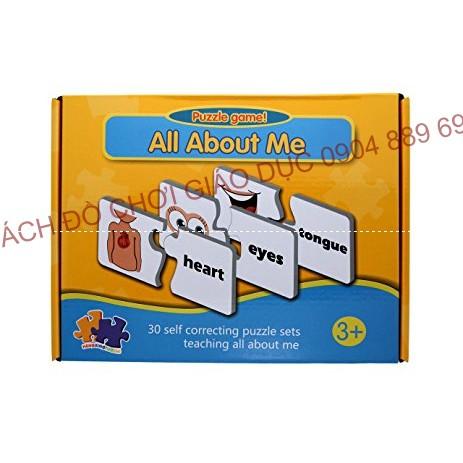 Puzzle game - All about me - Thẻ ghép học từ vựng tiếng anh về các bộ phận cơ thể - 2599605 , 1173432963 , 322_1173432963 , 190000 , Puzzle-game-All-about-me-The-ghep-hoc-tu-vung-tieng-anh-ve-cac-bo-phan-co-the-322_1173432963 , shopee.vn , Puzzle game - All about me - Thẻ ghép học từ vựng tiếng anh về các bộ phận cơ thể