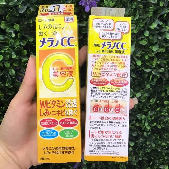 [NỘI ĐỊA NHẬT] Tinh chất trị thâm Serum Vitamin C Melano CC - 3480860 , 1079034582 , 322_1079034582 , 260000 , NOI-DIA-NHAT-Tinh-chat-tri-tham-Serum-Vitamin-C-Melano-CC-322_1079034582 , shopee.vn , [NỘI ĐỊA NHẬT] Tinh chất trị thâm Serum Vitamin C Melano CC