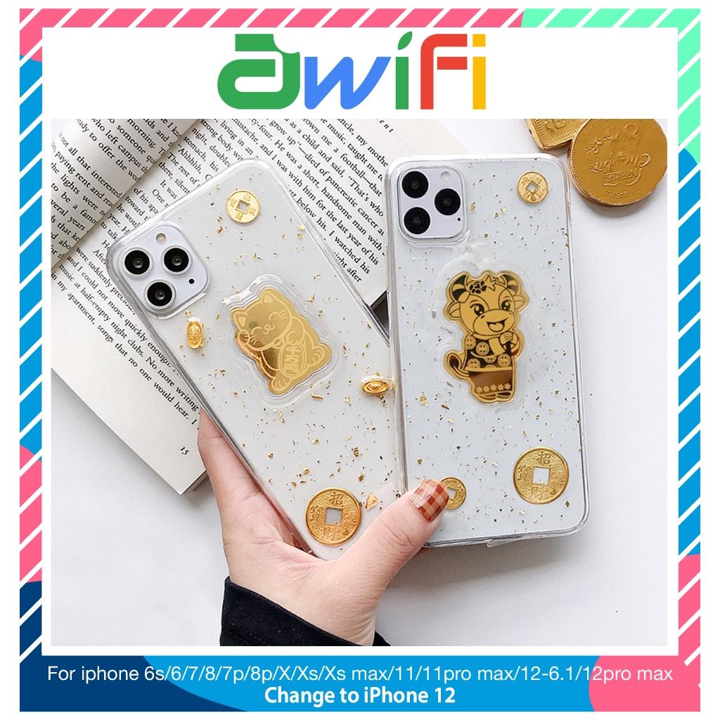 Ốp lưng iphone 3d Thần tài 5/5s/6/6plus/6s/6splus/7/7plus/8/8plus/x/xr/xs/11/12/pro/max/plus/promax - Awifi Case