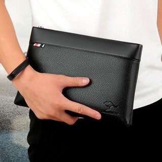 Ví cầm tay nam cao cấp ví da nam hàng hiệu chất da PU mềm thời trang đẳng cấp hàng nhập khẩu chính hãng thumbnail