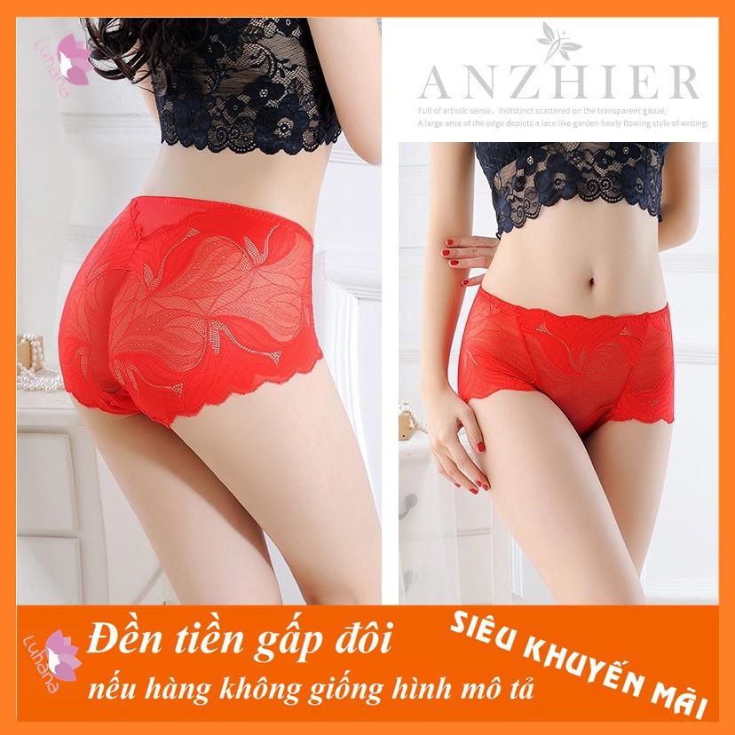 Quần lót ren đùi bigsize combo 5 quần hàng Quảng Châu cao cấp vừa là quần lót vừa là quần trong váy hàng siêu hot