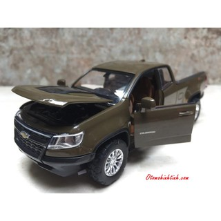 Mô hình xe Chevrolet Colorado 2019 1:32
