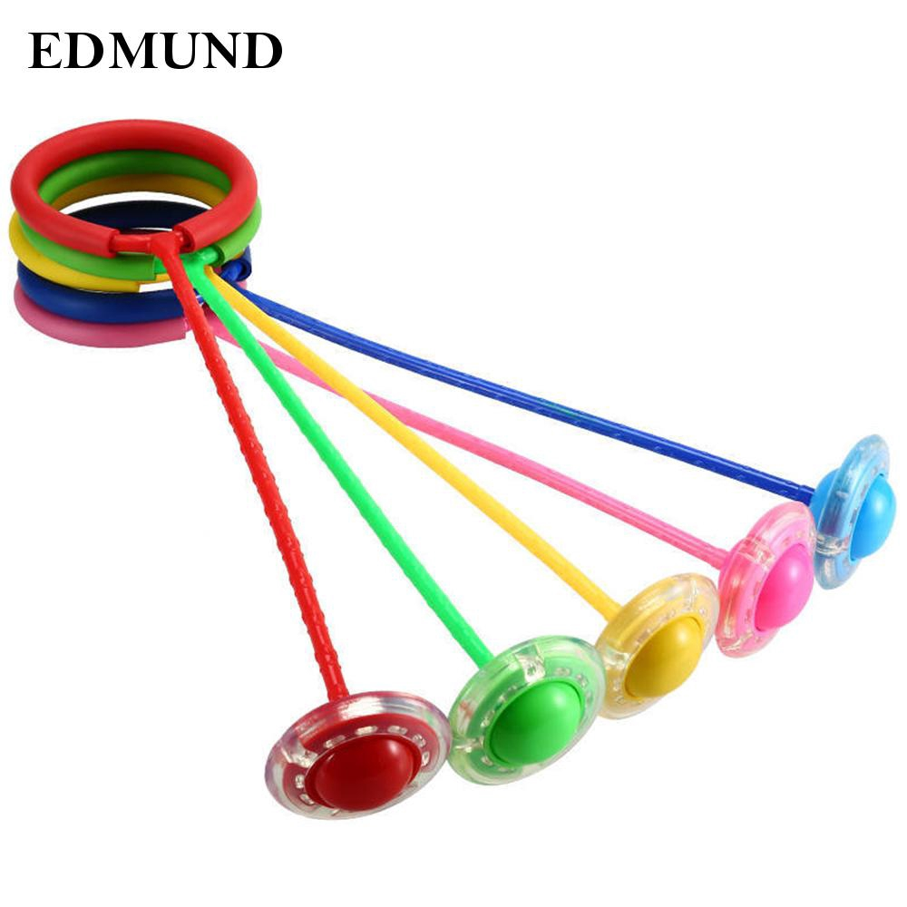 Skip Ball LED Flashing Fun Toy Outdoor For Kids Ankle Sport