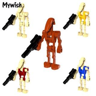 ❤⚽Star Wars Block Puzzle Toy Kids Child Mini Warbot Figure