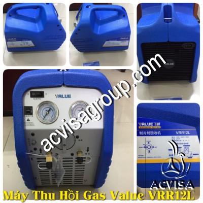 Thiết bị thu hồi gas lạnh Value Model: VRR12L