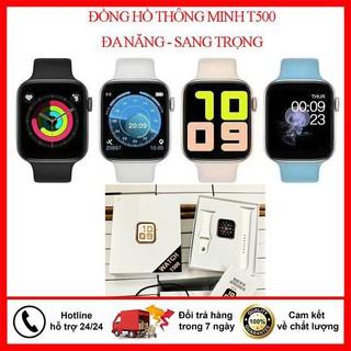 Smart Watch Seri 5, Đồng Hồ Thông Minh T500 Bản 2020, Bluetooth,Chống nước,Đo Nhịp Tim,Giao diện tiếng Việt ,Thay dây