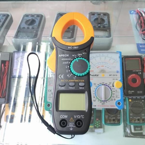 Ampe kìm dòng điện tử AC Apech AC-287 - 3417670 , 734215451 , 322_734215451 , 480000 , Ampe-kim-dong-dien-tu-AC-Apech-AC-287-322_734215451 , shopee.vn , Ampe kìm dòng điện tử AC Apech AC-287
