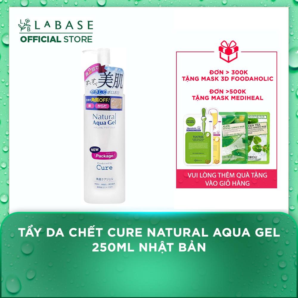 Tẩy da chết CURE Natural Aqua Gel 250ml Nhật Bản