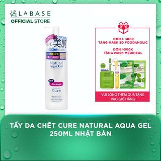 Tẩy da chết CURE Natural Aqua Gel 250ml Nhật Bản thumbnail
