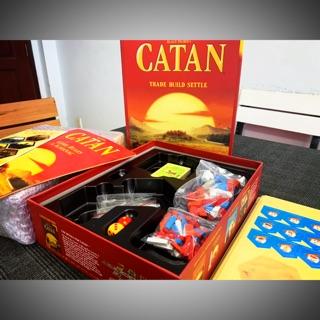 Combo Board Game Catan + Bọc Nắp Hộp
