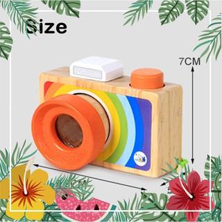 Máy ảnh kính vạn hoa đồ chơi gỗ