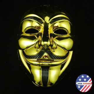 Mặt Nạ Hacker Mạ Vàng Bạc Zbig size Vgiá như sỉ