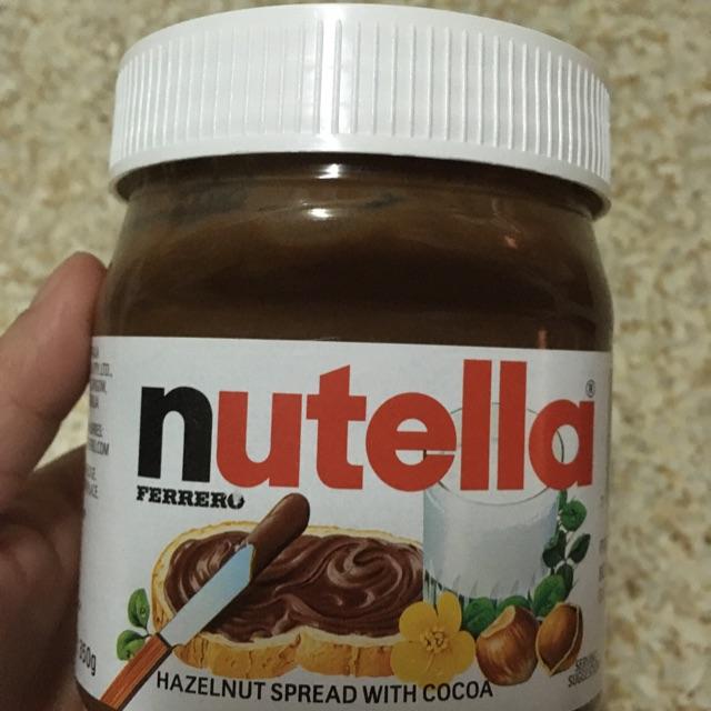 Nutella 350g / ขวดพลาสติก
