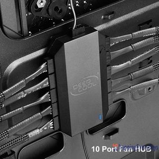 SV SATA Bộ Chia 10 Cổng Quạt Tản Nhiệt Fh-10 3pin / 4pin Pwm 12v