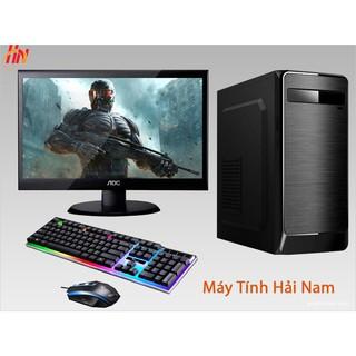 Bộ máy tính core i5 Ram 8GB card 2GB màn Hình 22inch chiến max setting PUBG lol Fifa4