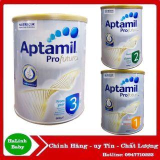 [Date 2021] Sữa Aptamil Profutura úc số 1-2-3-4 900g (mâ u mơ i)