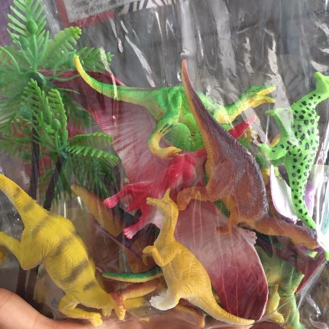 Túi khủng long nhựa cỡ trung 6986-10