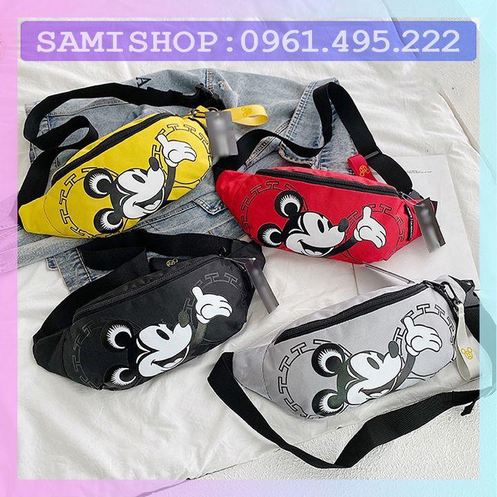 (HOT) Túi đeo chéo A.D.D  chuột MicKey Cao cấp-Túi đeo chéo- Thời trang-Phong cách-Cá tính-Đảm bảo chất lượng(0053-25)