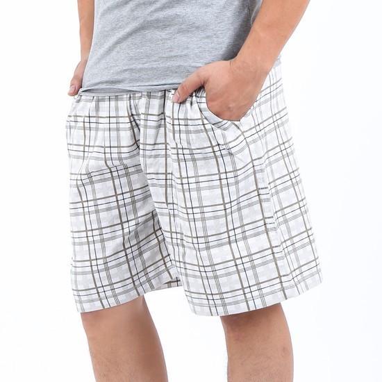 Quần Short Nam - Quần Đùi Caro Vải Cotton - Mặc Nhà Thoải Mái Quần short