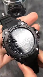 [Tặng Box thiếc] Đồng hồ nam Casio G-shock GTS 8600 Original –Chống nước 20Bar Viền Thép không gỉ, Nam tính, 45mm