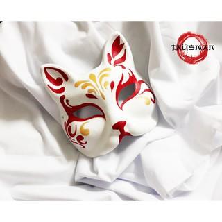 Mặt nạ cáo vẽ_17(Mask fox_cosplay) shopthebaipubg