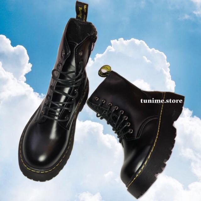 (CÓ SẴN - Ảnh thật) Giày Boot DR Cao cổ đế kép 5p