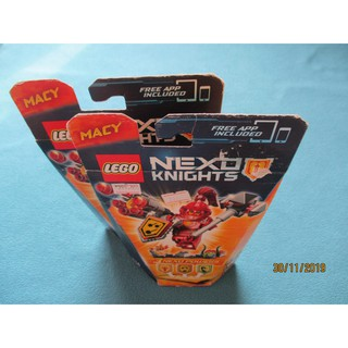 LEGO Nexo Knights 70331 Hiệp Sĩ Macy (101 Mảnh Ghép) [New Sealed, Chính Hãng]
