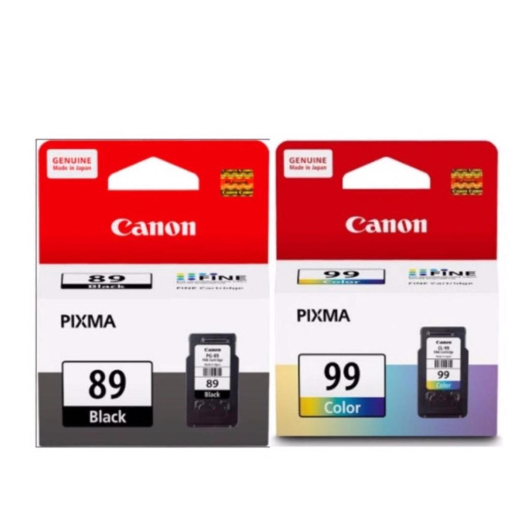 Printer Scanner Canon Ink Cartridge PG-89 (Black) + Canon Ink Cartridge CL-99 (Color)rinter Scanner Canon Ink Cartridge