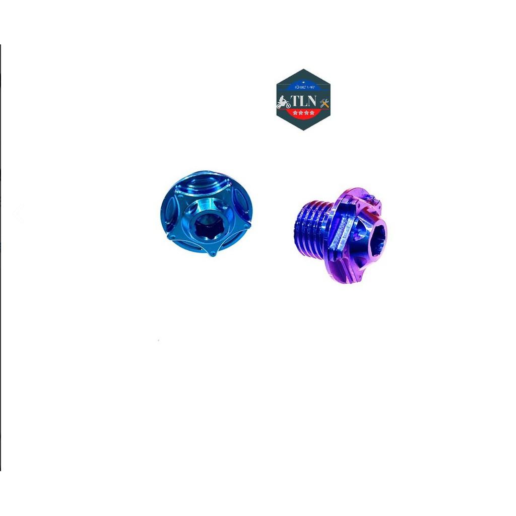 Ốc Mâm Lửa Titan Gr5 Cho Ex150