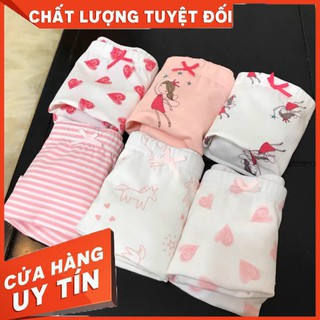 Set 3 quần Chip TeenGo cực đẹp cho bé gái từ 9-36kg, chất liệu cotton co giãn 4 chiều thoải mái cho bé khi mặc