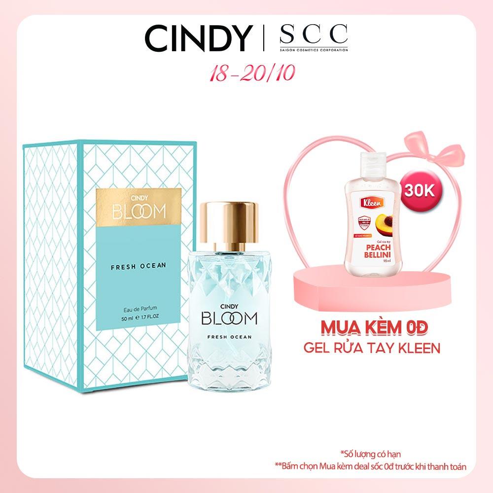 [Mã FMCGMALL giảm 8% đơn từ 250K] Nước hoa Cindy Bloom Fresh Ocean 50ml chính hãng