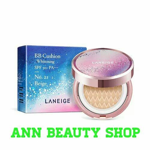 (KÈM REFILL) Laneige BB Cushion Whitening Holiday Limited