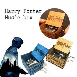 Hộp Nhạc Bằng Gỗ Khắc Chữ Harry Potter thumbnail