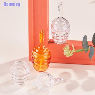 Bg> 9Ml Honeycomb Lip Gloss Tube Clear Amber Plastic Lip Gloss Containers Bottle