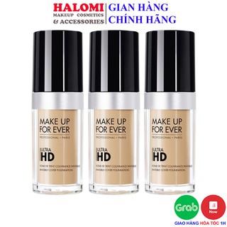 Kem nền Make Up Forever Ultra HD Foundation 30ml Chính hãng HALOMI thumbnail
