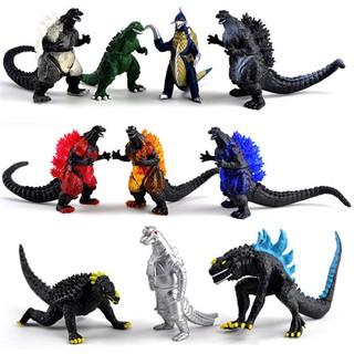 Bộ 10 mô hình quái vật khủng long Godzilla