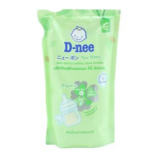 Bộ 3 túi nước rửa bình sữa Dnee ORGANIC 600ml Thái lan thumbnail