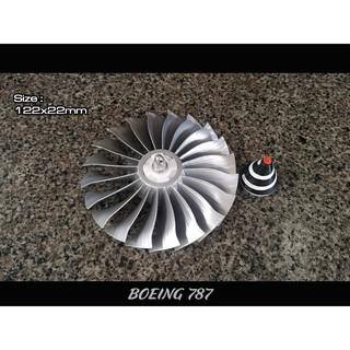 Cánh quạt máy bay Turbin Phản Lực Boeing 787 Mini